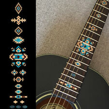 Native American Style Ethnic Fret Markers Inlay Sticker For Guitar (Natural)