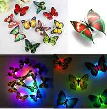 Shining 18Pcs 3D Butterflies DIY home decor wall stickers (mix)