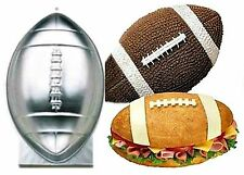 WILTON Football Cake Pan Novelty Baking Birthday Party Easter Egg SEE EXAMPLES!