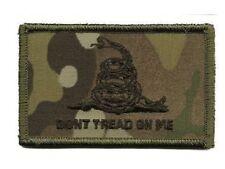 Tactical Patch Badge Morale Hook Gadsden Snake Dont Tread On Me DTOM Multicam