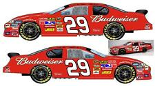CD_919 #29 Kevin Harvick 2011 Red Budweiser Chevy   1:64 Scale Decals