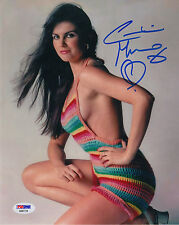 "007 : CAROLINE MUNRO AKA ""NAOMI"" SIGNED SEXY PHOTO PSA"