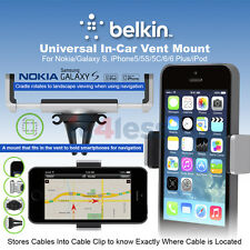 Belkin Universal In Car Vent Mount for Smartphone iPhone 7 6s 6 Plus  Galaxy S6