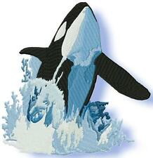 WHALES 20 MACHINE EMBROIDERY DESIGNS CD 3 SIZES INCLUDED
