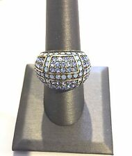"""Heidi Daus """"Crystalicious"""" Pavé Crystal Dome Ring"""
