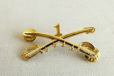 Civil War Indian Wars Confederate Army/Union Army 1st. Cavalry Hat Pin New.