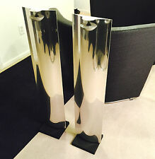 Bang & Olufsen BeoLab 12-3 Aluminum Speakers w/Floor Stands Loudspeakers