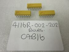 4116R DIL Resistor Array Network 2K OHM 2 PER Pack