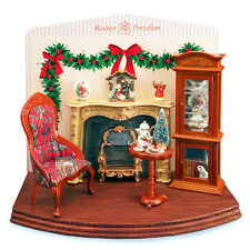 Reutter Porzellan DISPLAY NATALE CHRISTMAS Evening DIORAMA bambole Tube 1:12