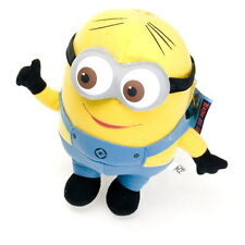 "7"" Small Cute Despicable Me Minion DAVE Soft Plush Stuffed Teddy Doll Toy"