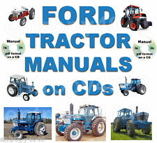 FORD 2000 3000 4000 5000 7000 Tractor Service Manual - SEARCHABLE & INDEXED CD!!