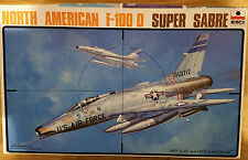 North American F-100 D Super Sabre ESCI 1/48 RETRO model aircraft kit #082