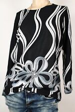 NEW WOMEN TUNIC  size  14/16  TOP  LONG SLEEVE  BLOUSE  LADIES   c  6870
