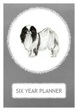 Japanese Chin Dog Show Six Year Planner/Diary by Curiosity Crafts 2017-2022