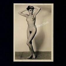 #450 RÖSSLER AKTFOTO / NUDE WOMAN STUDY * Vintage 1950s Studio Photo - no PC !