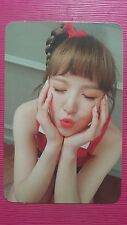 RED VELVET WENDY Official Photocard RUSSIAN ROULETTE 3rd Album Photo Card 웬디