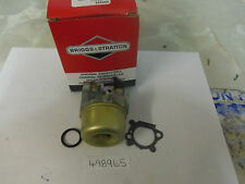498965 CARBURETTOR - GENUINE BRIGGS & STRATTON CARB 498965 - IN STOCK