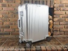 Rimowa Topas MULTIWHEEL Carry-On Spinner 45L Aluminium NEW 92356004 923.56.00.4