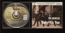 "CD MAXI SINGLE BEATLES BABY IT'S YOU +3 PROMO COPY ""ES"" STICKER ON BACK OF CASE"