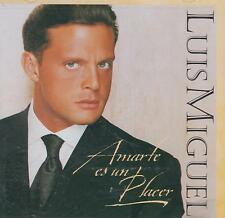 CD - Luis Miguel NEW Amartes Es Un Placer 12 Tracks FAST SHIPPING !