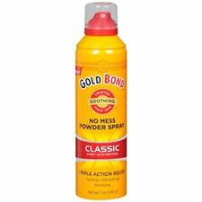 Gold Bond No Mess Powder Spray, Classic Scent with Menthol 7 oz (Pack of 9)