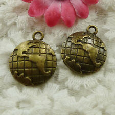 Free Ship 25 pieces bronze plated cute charms 24x20mm #1650