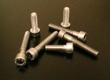 APRILIA RS125 1999-2005 SILVER STAINLESS STEEL FUEL TANK CAP BOLTS KIT