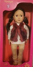 "New Our Generation Tamaya 18"" doll Brown Hair Fits American Girl Kaya FAST SHIP"