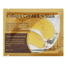 10 Pcs Moisturizing Eye Patches Sheet Beauty Gold Crystal Collagen Eye Mask