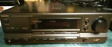 Technics Amplifier SU-G96 AV Control stereo Amp W/Phono Input sold for parts