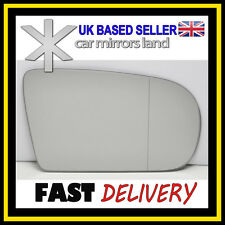 Right Driver Wing Mirror Glass Wide Angle MERCEDES C-CLASS W203 00-07