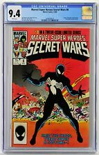 Marvel Super Heroes Secret Wars #8 CGC 9.4 Origin of symbiote/costume! Venom