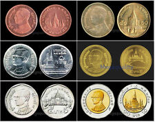 Thai Coin Complete Set Very New Condition Free Shipping