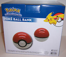 NINTENDO POKEMON POKE BALL Pokeball CERAMIC Piggy BANK Money Coin Holder NEW!