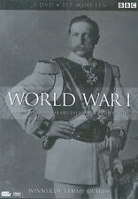 World War I : 1914 - 1918 The great war and the sharing of the century (3 DVD)