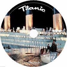 The Complete History of the Titanic Book Collection and Photo Gallery on cd dvd