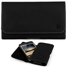 LEATHER CASE HOLSTER BELT CLIP POUCH FOR SAMSUNG GALAXY NOTE 5 S6 Edge Plus +