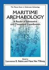 The Springer Series in Underwater Archaeology: Maritime Archaeology : A...