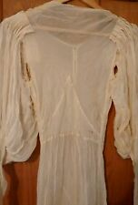 Original vintage 1930s dress wedding dress
