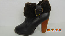 Colin Stuart Womens High Heel Womens Ankle Boots Size 7B Leather upper