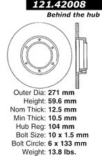 Centric Parts 121.42008 Brake Rotor- Front