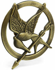 SPILLA HUNGER GAMES MOCKINGJAY PIN ghiandaia BADGE KATNISS COSPLAY GADGET BRONZE