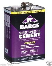 Barge Super Speed TF Cement 1 Gallon Waterproof Flexible Cement Glue Adhesive 1g