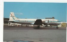United Airlines Douglas DC-6B Aviation Postcard, A654