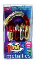 Tangle Jr. Tri-Color Metallic Brain Teaser, ADHD, Desk Fidget Toy