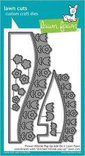 Lawn Fawn Lawn Cuts Cutting Die FLOWER HILLSIDE POP-UP ADD-ON ~ 3D Cards ~LF1369