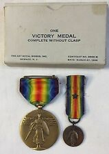 WWI Victory Medal in Box - World War I