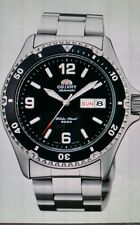 NEW ORIENT MAKO ll COLLECTION AUTOMATIC WATCH BLACK DIAL 200 MM DIVE(free gift )