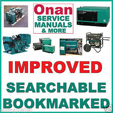 Onan GRCA SERVICE MANUAL, Parts Catalog, Installation & Operators -4- MANUALS CD