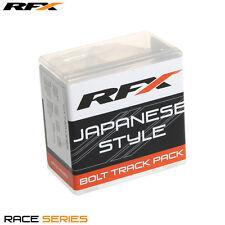 Rfx Track Pack bolts special washers & fasteners kit SUZUKI RM 125 250 RMZ